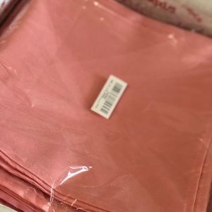 Other - 100 polyester blush/coral napkins